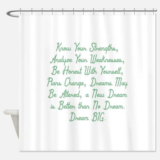 Honesty & Adaptation Shower Curtain
