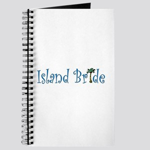 Island Bride with Palm Tree Journal