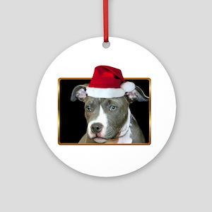 Pitbull Christmas Ornaments - CafePress