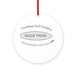 You-Nique Freak Ornament (Round)