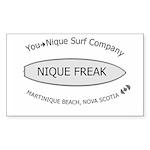 You-Nique Freak Rectangle Sticker
