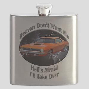 Plymouth Barracuda Flask