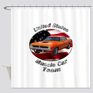 Plymouth Barracuda Shower Curtain
