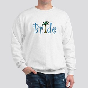 Bride with Palm Sweatshirt