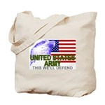 US Army American Eagle Tote Bag