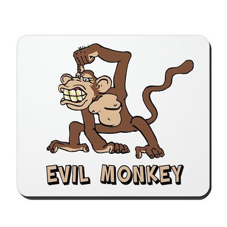 Evil Monkey Mousepad