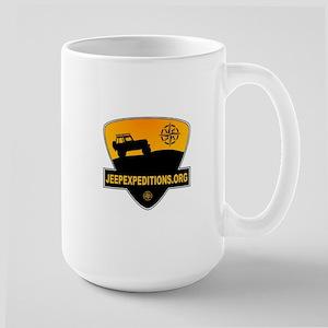 Jeep Expeditions Logo Large Mug