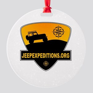 Jeep Expeditions Logo Round Ornament