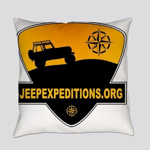 Jeep Expeditions Logo Everyday Pillow