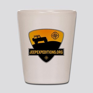 Jeep Expeditions Logo Shot Glass
