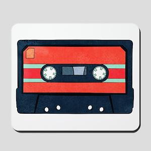 Red Cassette Mousepad