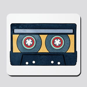 Orange Cassette Mousepad