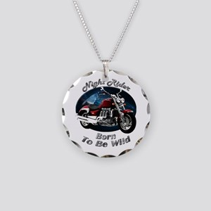 Triumph Rocket III Necklace Circle Charm