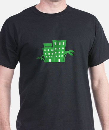 Palms & Buildings T-Shirt