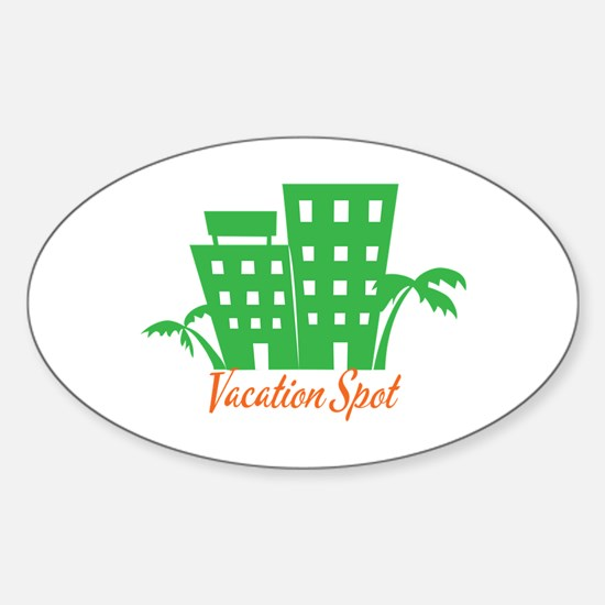 Vacation Spot Decal