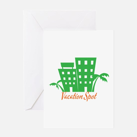 Vacation Spot Greeting Cards