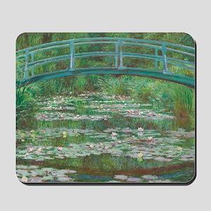 Claude Monet The Japanese Footbridge 189 Mousepad