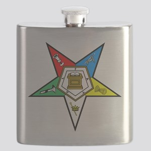 Eastern Star Flask
