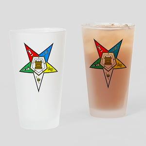Eastern Star Drinking Glass