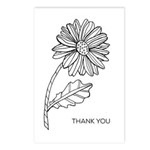 Daisy Colouring Postcards (package Of 8)