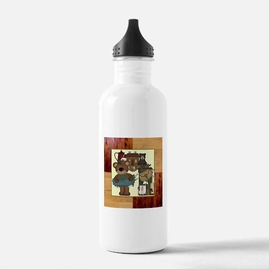 CABIN BEARS Water Bottle