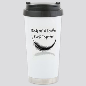 BIRDS of a FEATHER Stainless Steel Travel Mug