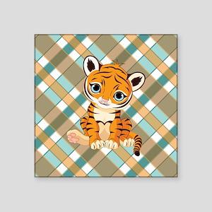 """TIGER CUB Square Sticker 3"""" x 3"""""""