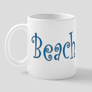 Beach Bride Palm Mug