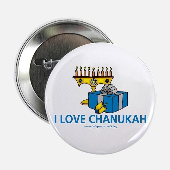 I Love Chanukah Button