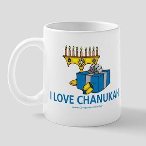 I Love Chanukah Mug