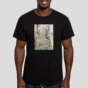 Safe Haven Men's Fitted T-Shirt (dark)