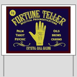 Fortune Teller Yard Sign