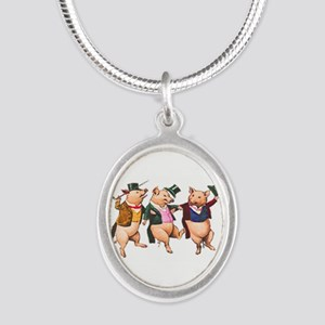 Three Little Pigs Necklaces