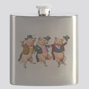 Three Little Pigs Flask