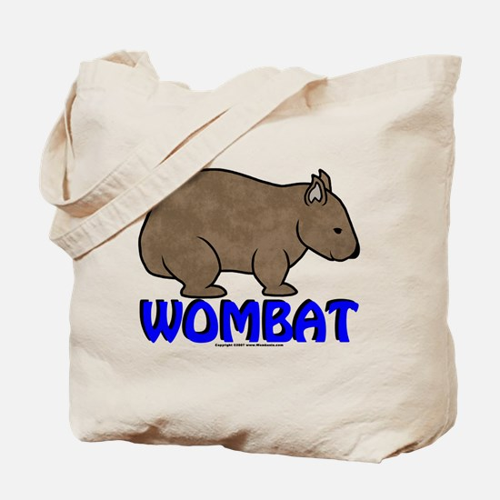 Wombat Logo III Tote Bag