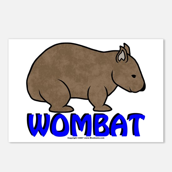Wombat Logo III Post Cards (Package of 8)