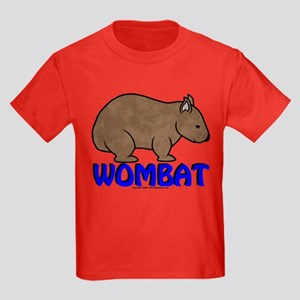 Wombat Logo III Kids Dark T-Shirt