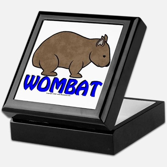Wombat Logo III Keepsake Box