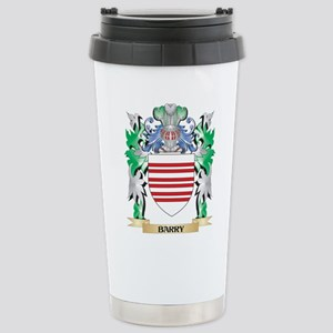 Barry Coat of Arms - Fa Stainless Steel Travel Mug