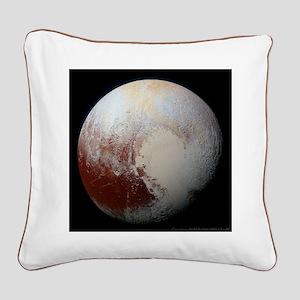 Pluto - The Largest Dwarf Pla Square Canvas Pillow