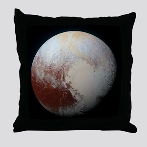 Pluto - The Largest Dwarf Planet Throw Pillow