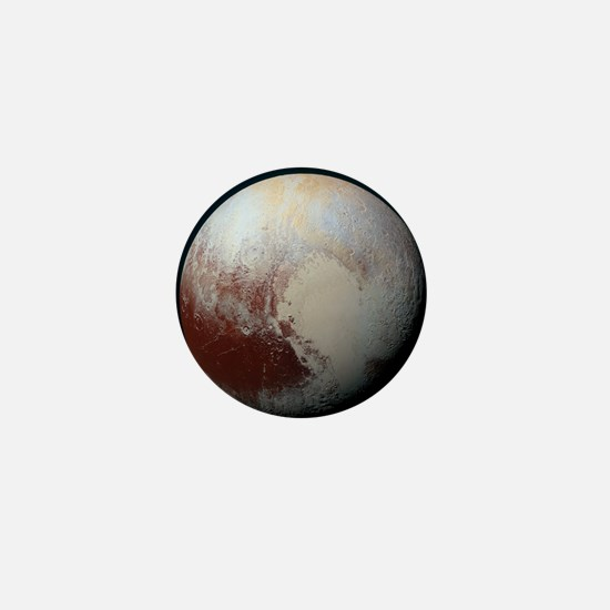 Pluto - The Largest Dwarf Planet Mini Button
