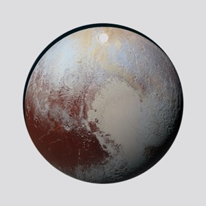Pluto - The Largest Dwarf Planet Round Ornament
