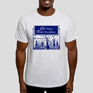 One Nation Under Surveillance Ash Grey T-Shirt