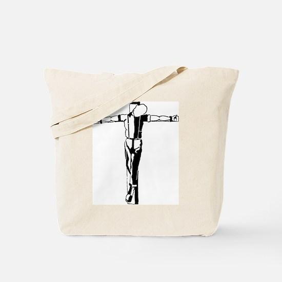 Crucified Skin Tote Bag