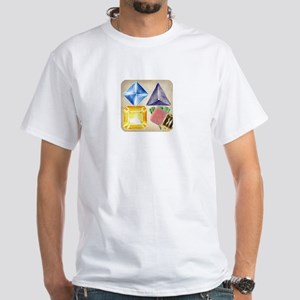 Doodle Jewels Icon T-Shirt