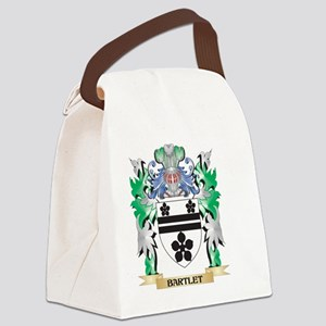 Bartlet Coat of Arms - Family Cre Canvas Lunch Bag