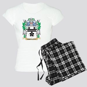 Bartlett Coat of Arms - Fam Women's Light Pajamas