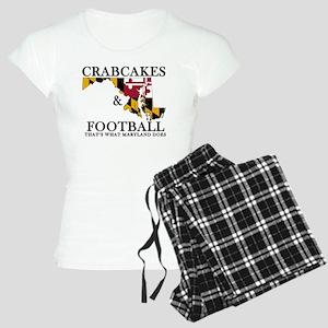Old School Crabcakes & Foot Women's Light Pajamas