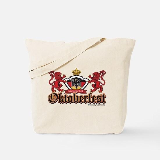 Two Lions Oktoberfest Tote Bag